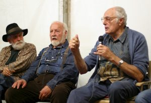 Vries Gravestein speaking in a panel discussion APC9 March 2008 Sydney (with Bill Mollison and John Archer)