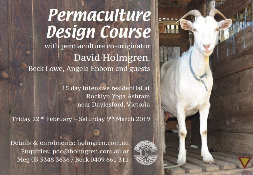 Permaculture Courses With David Holmgren