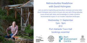 Retrosuburbia Roadshow with David Holmgren
